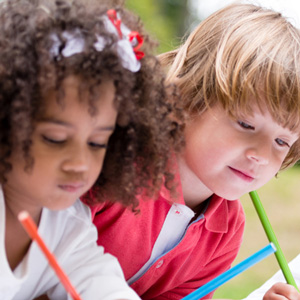 Early Years Hub supporting early writing skills course